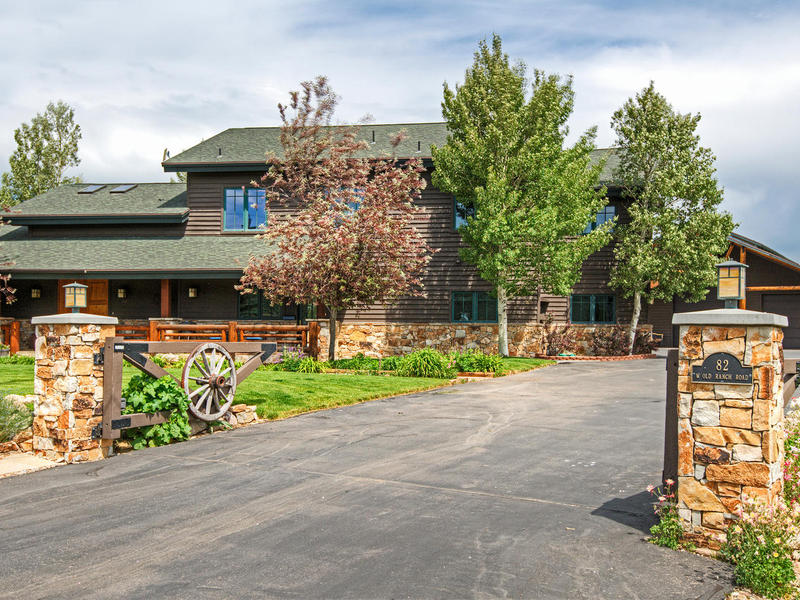 Single Family Home for Sale at Prestigious 9+ acres Old Ranch Road property with Separate Apartment & Barn 82 Old Ranch Rd Park City, Utah 84098 United States
