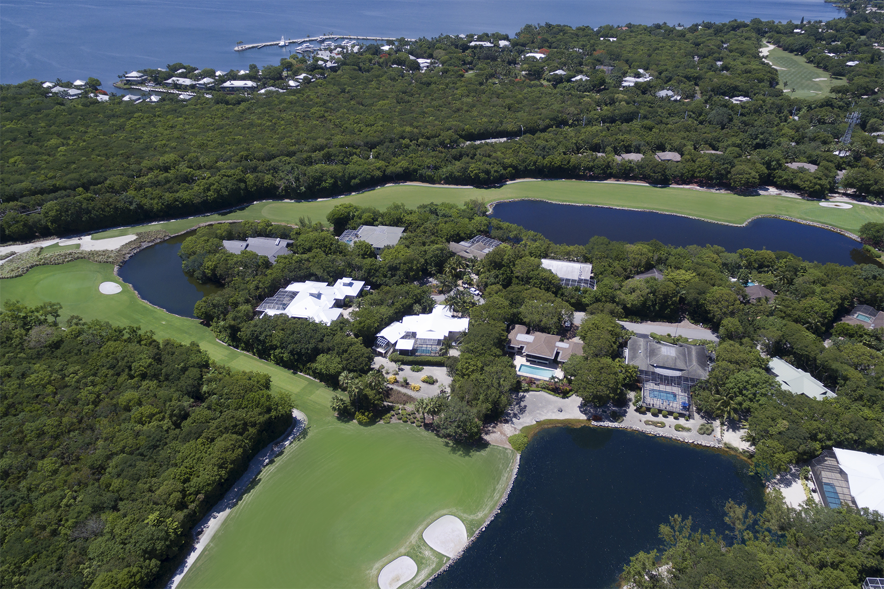 Single Family Home for Sale at Custom Golf Course Home at Ocean Reef 13 Caloosa Road Ocean Reef Community, Key Largo, Florida, 33037 United States