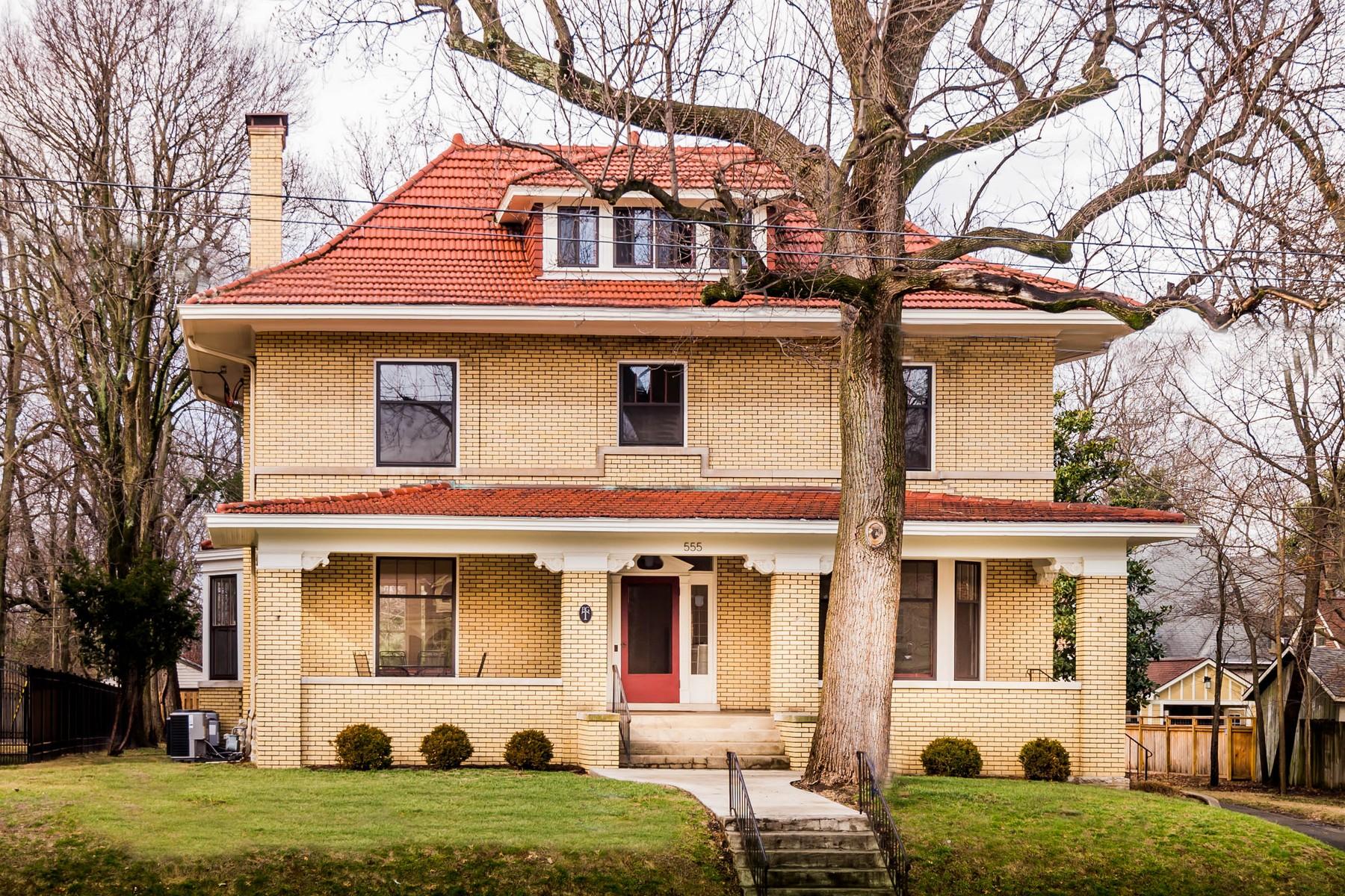 獨棟家庭住宅 為 出售 在 555 N. Broadway Lexington, 肯塔基州, 40508 美國