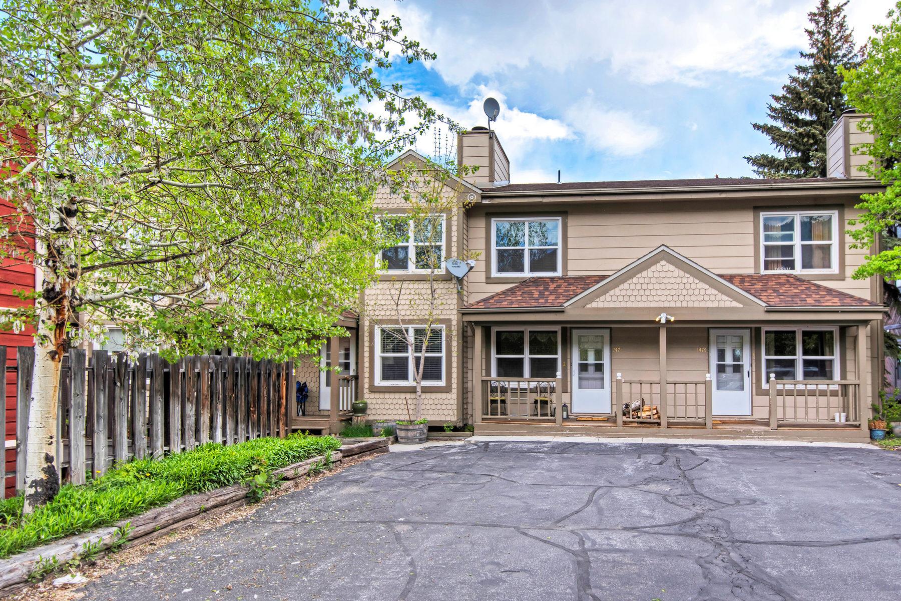 Nhà phố vì Bán tại Adorable Townhouse In The Heart Of Old Town 1478 Park Ave #2 Park City, Utah, 84060 Hoa Kỳ