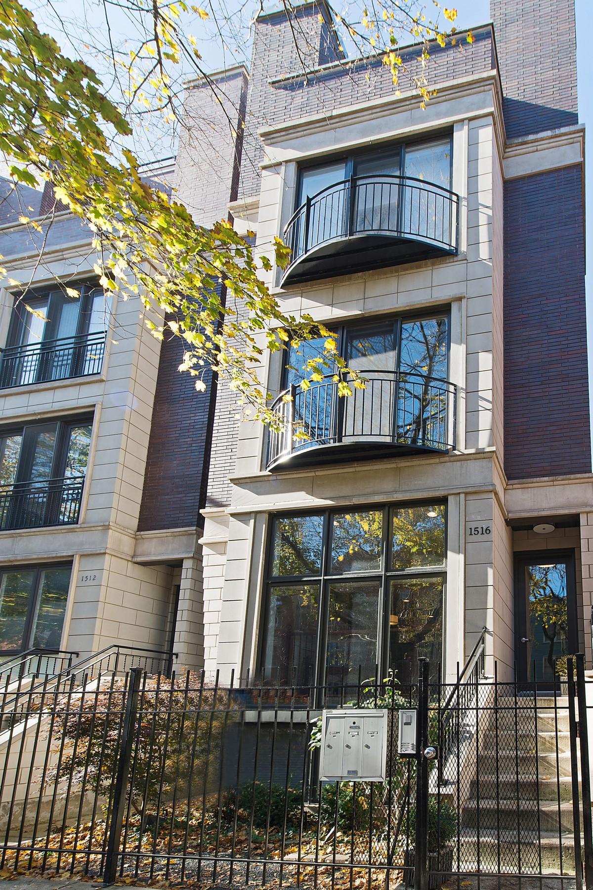 獨棟家庭住宅 為 出售 在 Beautiful Four Bedroom 1516 N Cleveland Avenue Unit 1 Chicago, 伊利諾斯州, 60610 美國