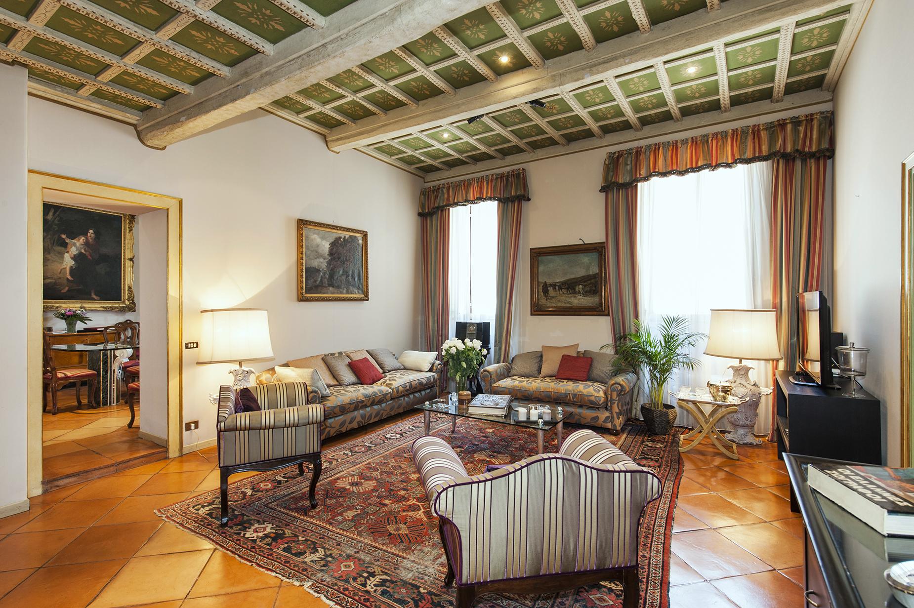 Apartment for Sale at Prestigious apartment in Via delle Coppelle Rome, Rome, 00186 Italy