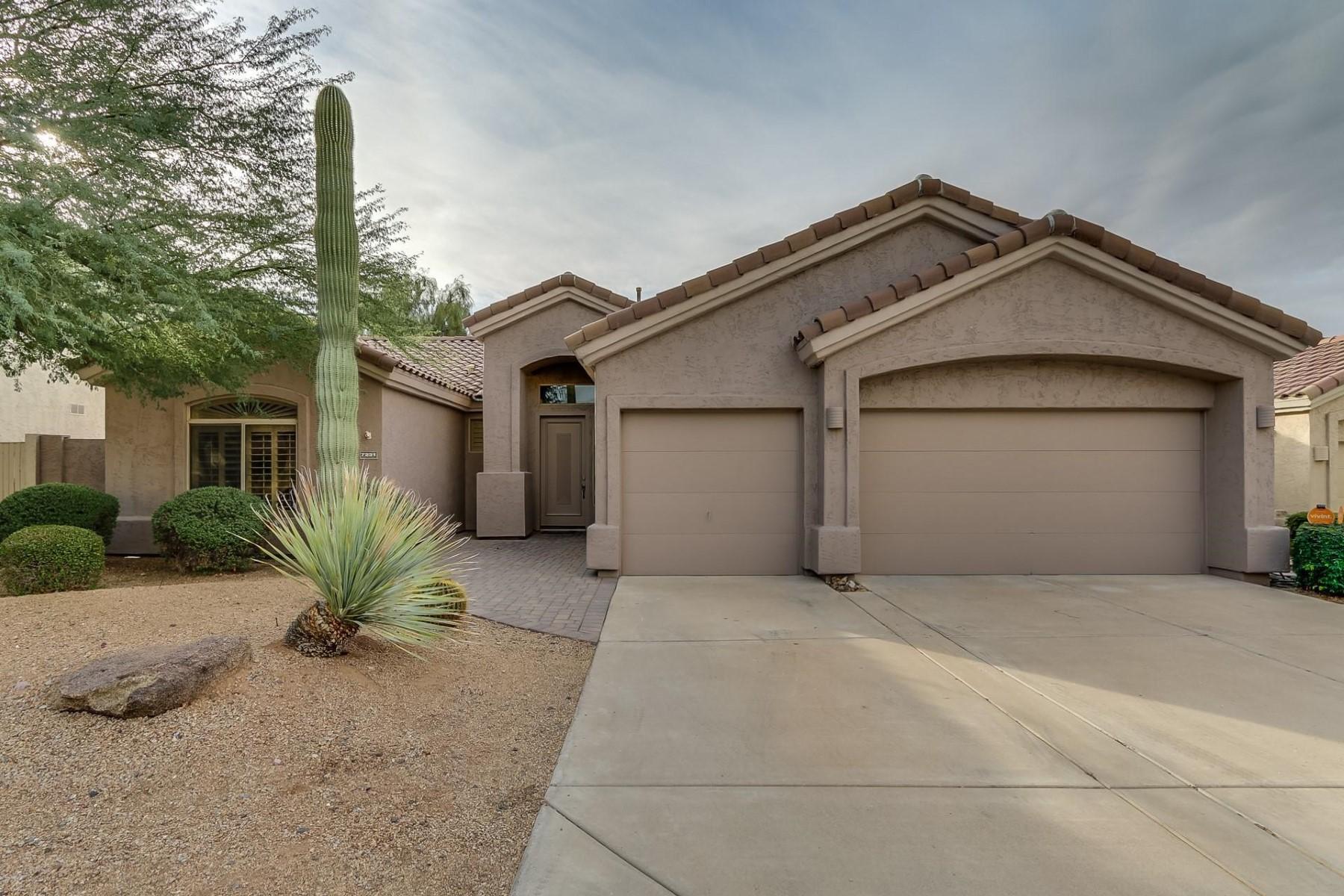 Einfamilienhaus für Verkauf beim Remodeled Grayhawk single level in Monterey Park 7231 E Tailfeather Dr Scottsdale, Arizona, 85255 Vereinigte Staaten