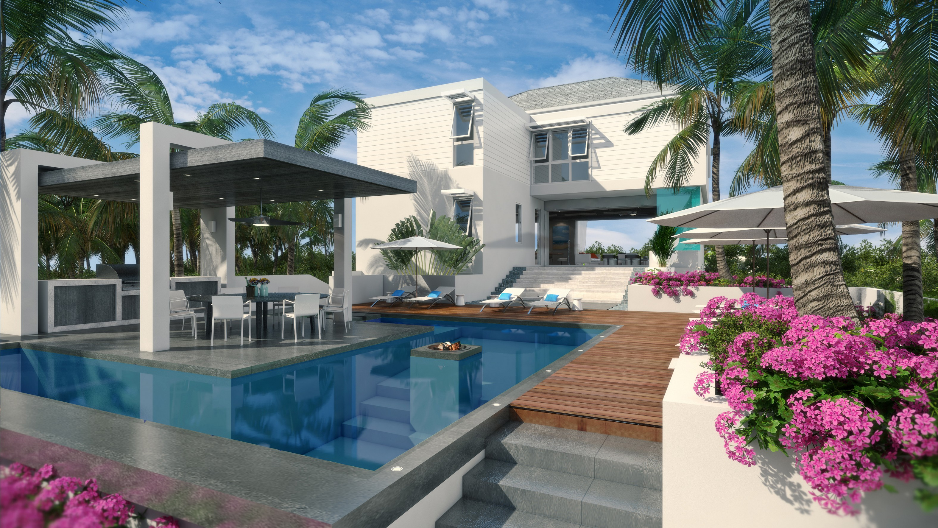 Single Family Home for Sale at The Dunes ~ Managed by Grace Bay Resorts North Shore Beachfront Turtle Cove, Providenciales TC Turks And Caicos Islands