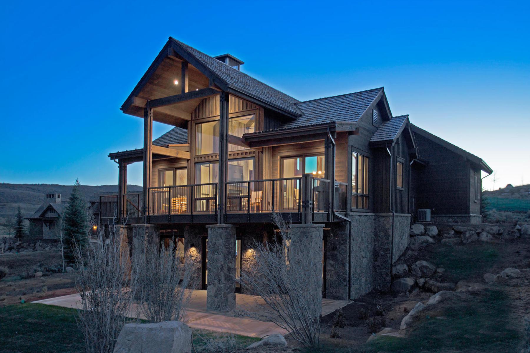 一戸建て のために 売買 アット Juniper Cabin with Spectacular Views at Victory Ranch 6677 E Broken Stick Ct Lot #145 Heber City, ユタ, 84032 アメリカ合衆国