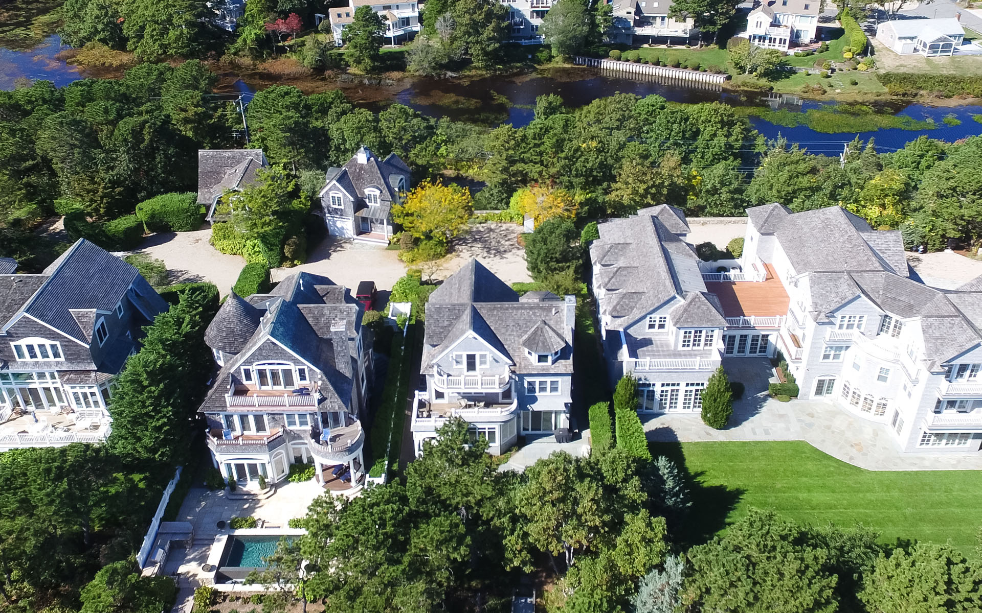 Single Family Home for Sale at EXQUISITE BEACH FRONT 23 Ocean Bluff Drive New Seabury, Massachusetts, 02649 United StatesIn/Around: Mashpee