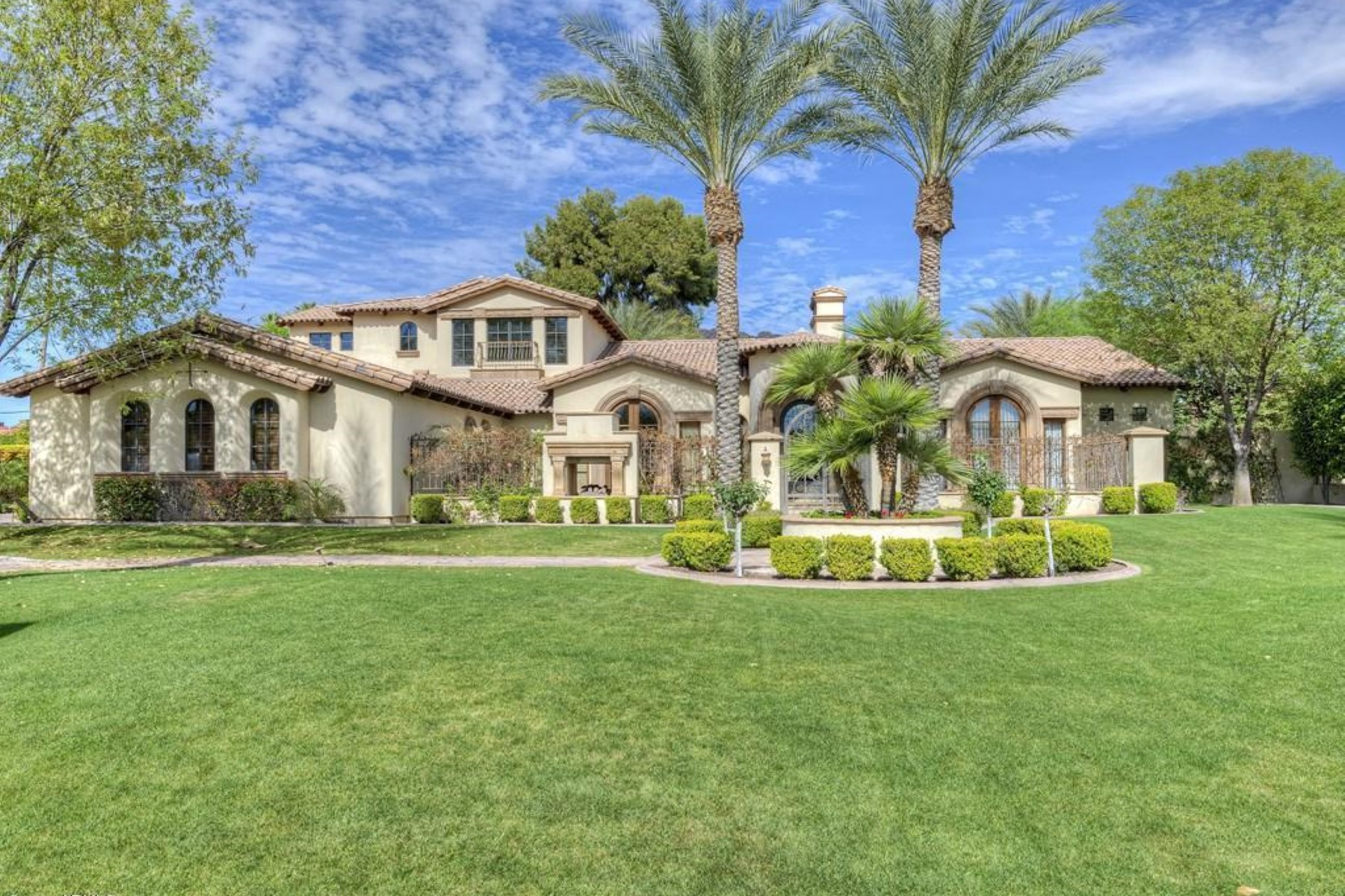 Single Family Home for Sale at An incredible custom home in the heart of Arcadia 5844 E LAFAYETTE BLVD Phoenix, Arizona 85018 United States
