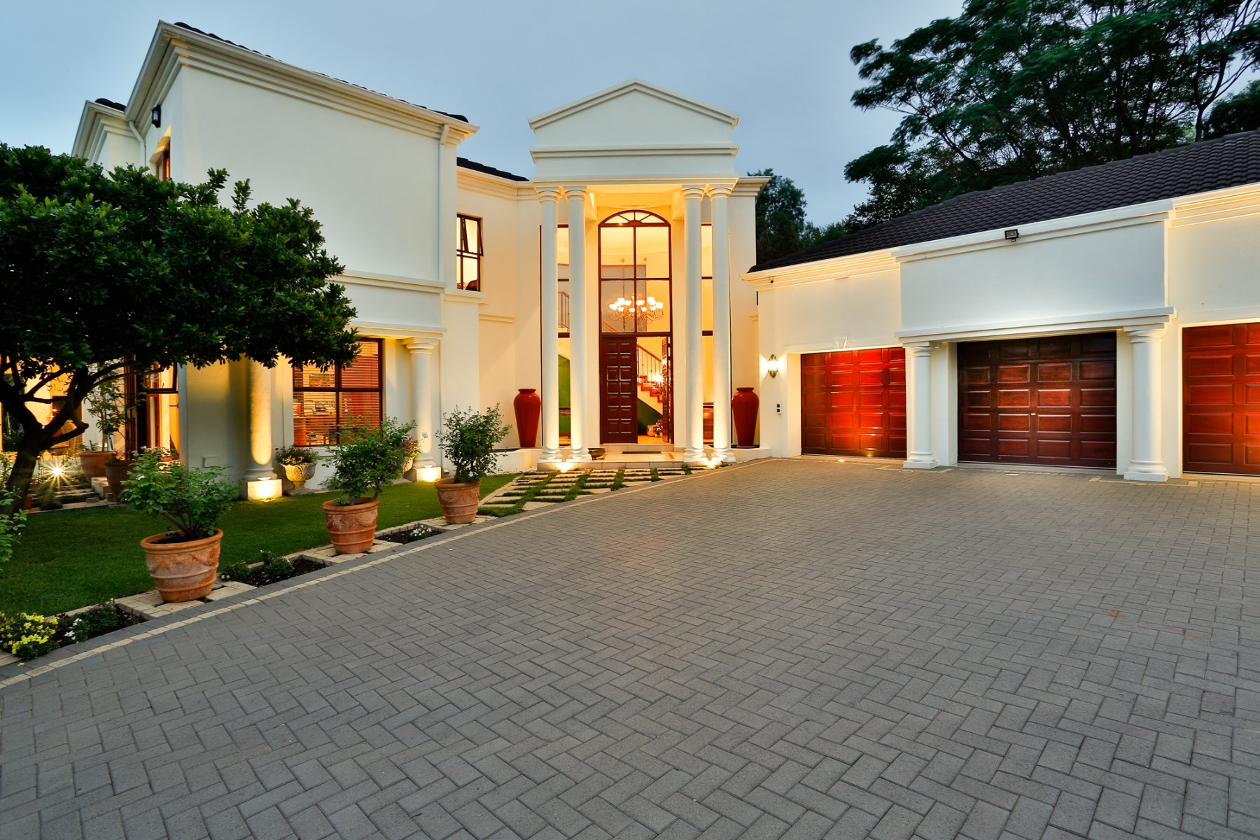 Single Family Home for Sale at A Georgian house in Bryanston Johannesburg, Gauteng South Africa