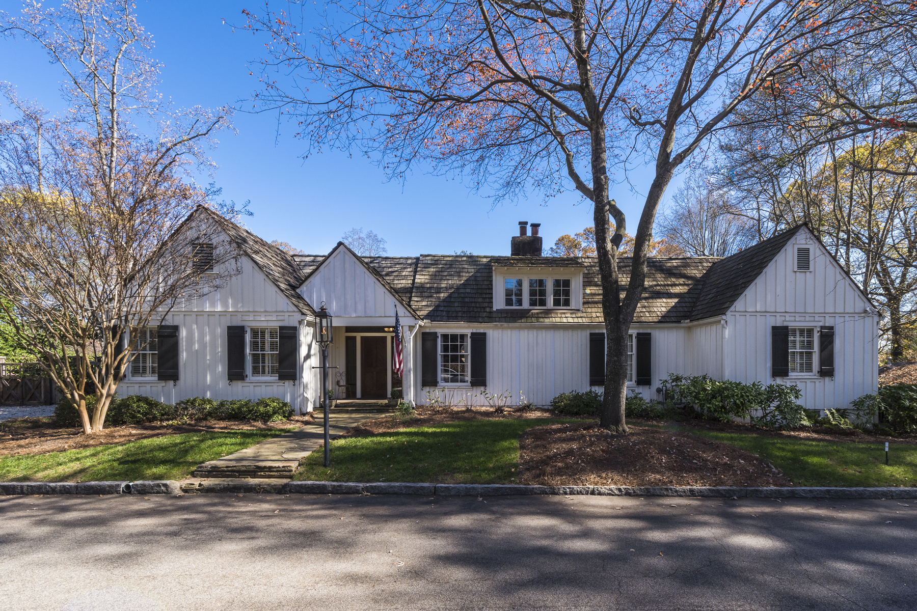 Single Family Home for Sale at Charming Beautifully Renovated Former Hunting Lodge 2535 Forrest Way NE Garden Hills, Atlanta, Georgia, 30305 United States