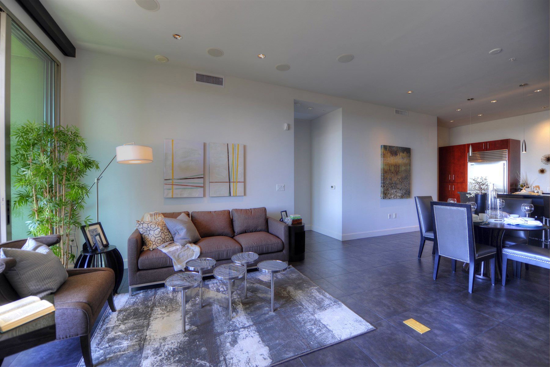 Condominium for Sale at Exquisite Luxury Scottsdale Plaza Lofts Condo With Beautiful Views 15215 N Kierland Blvd #635 Scottsdale, Arizona 85254 United States