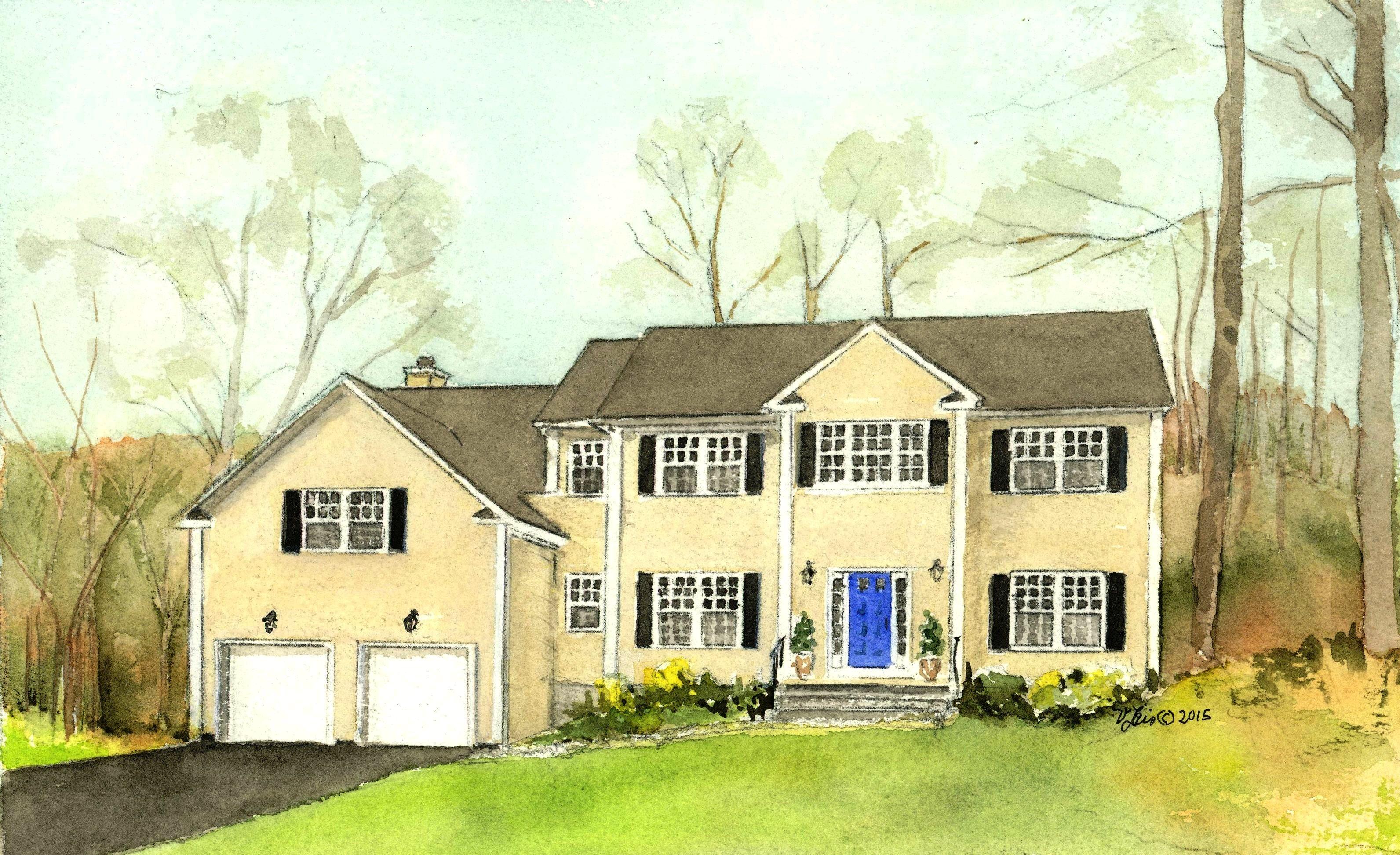 Einfamilienhaus für Verkauf beim On Woodybrook Pond 267 West Mount Airy Road Croton On Hudson, New York 10520 Vereinigte Staaten