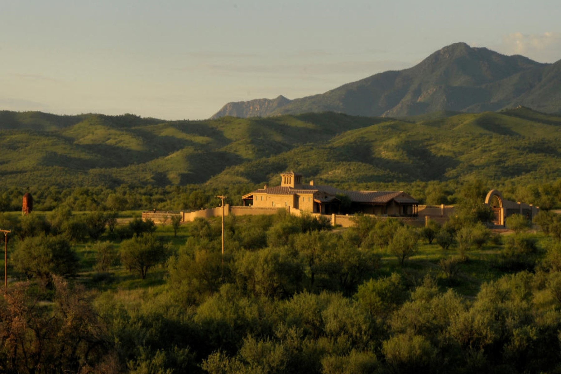 sales property at Magnificent secludedprivate Western Ranch home.