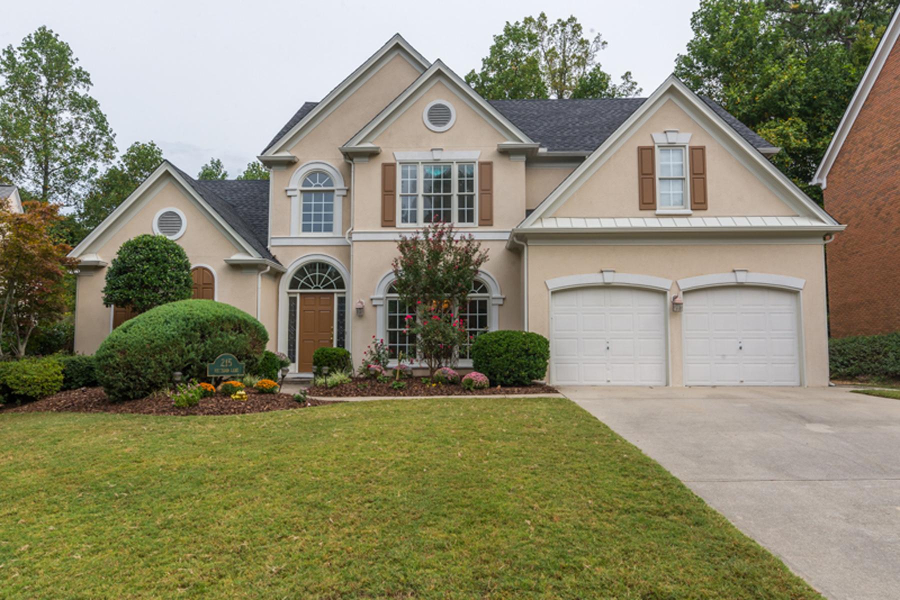 独户住宅 为 销售 在 Idyllic Cul-de-sac Setting 215 Smithdun Lane Sandy Springs, 乔治亚州 30350 美国