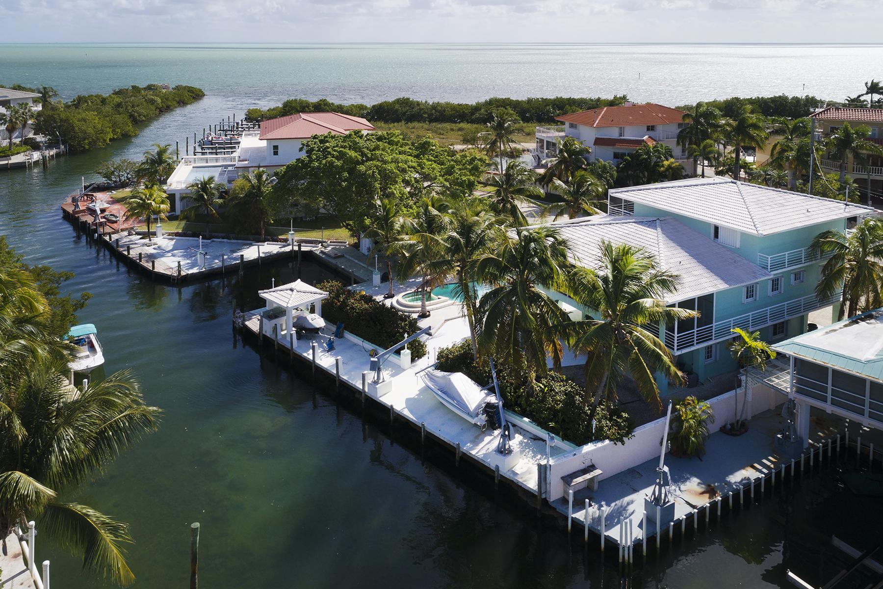 Частный односемейный дом для того Продажа на Boaters Paradise 196 Lorelane Place Key Largo, Флорида, 33037 Соединенные Штаты