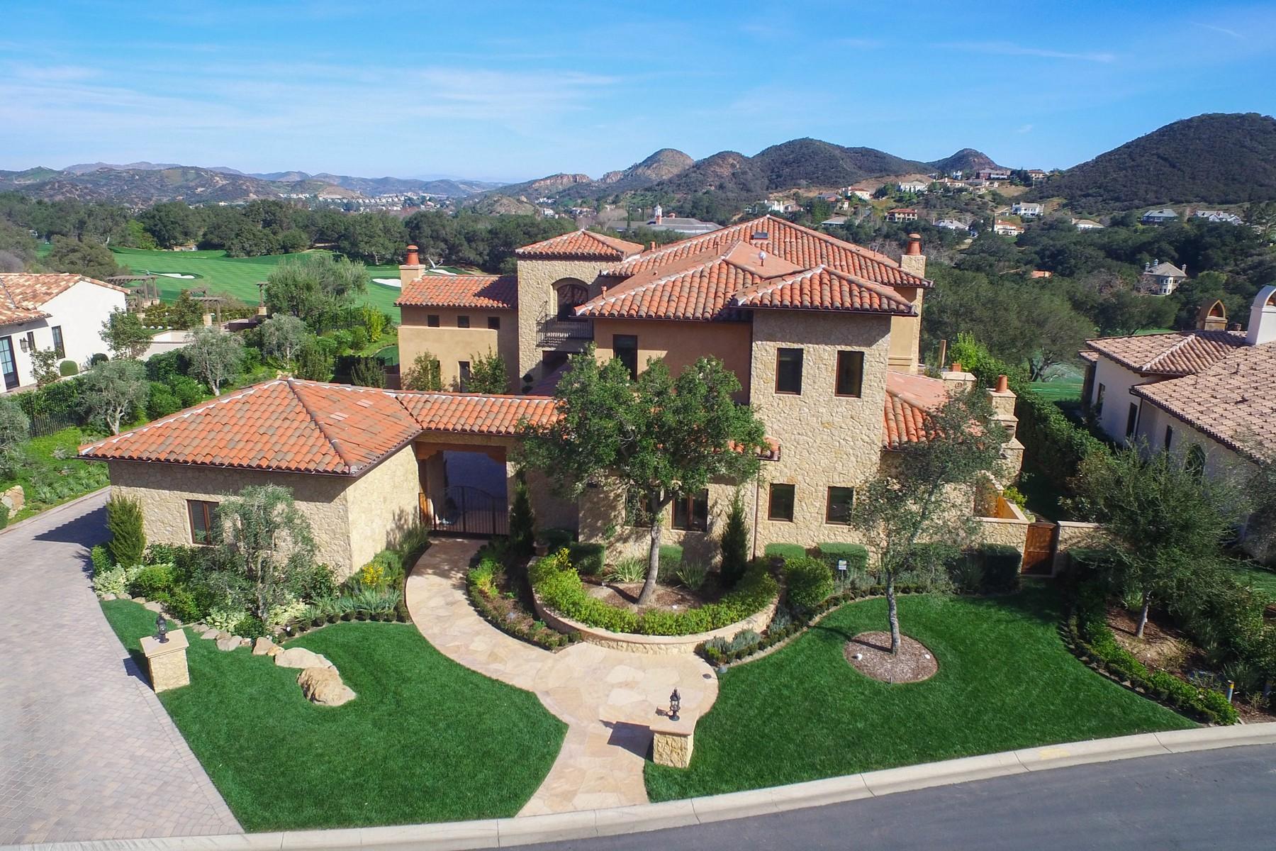 Single Family Home for Sale at Ladbrook Way 2550 Ladbrook Way Thousand Oaks, California, 91361 United States