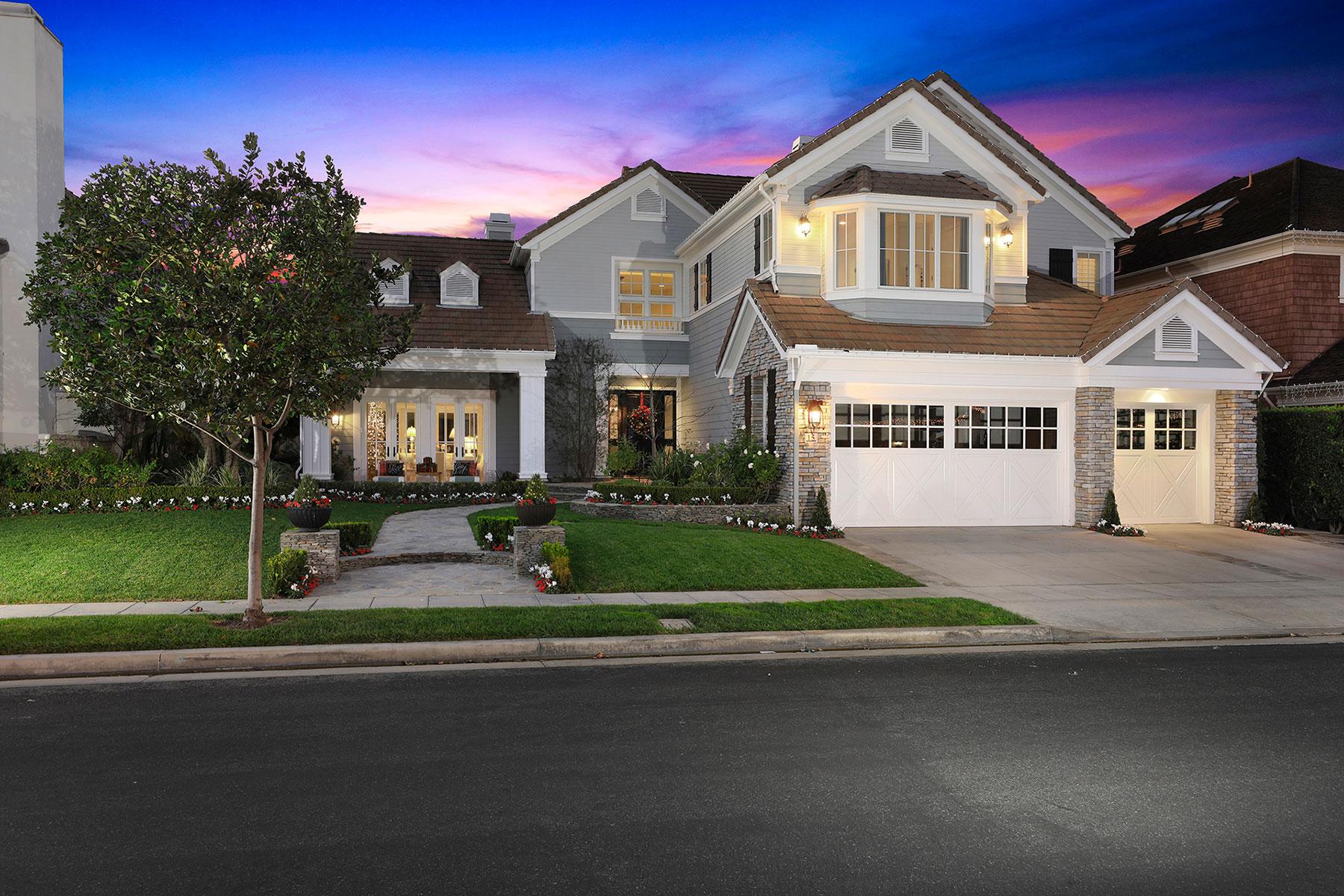 Maison unifamiliale pour l Vente à 15 Gleneagles Dr Newport Beach, Californie 92660 États-Unis