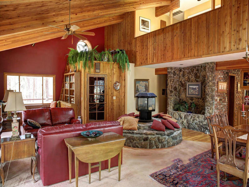 Single Family Home for Sale at Your Quintessential Cabin 8290 N Roundtree RD Flagstaff, Arizona 86001 United States