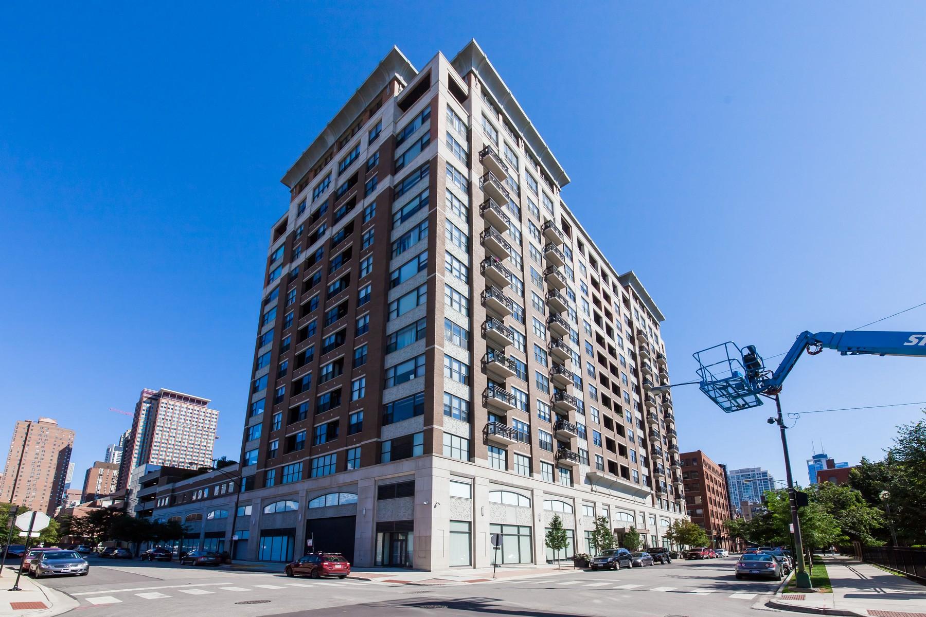 Eigentumswohnung für Verkauf beim Stunning Home in the Parc Chestnut 849 N Franklin Street Unit 409 Near North, Chicago, Illinois, 60610 Vereinigte Staaten