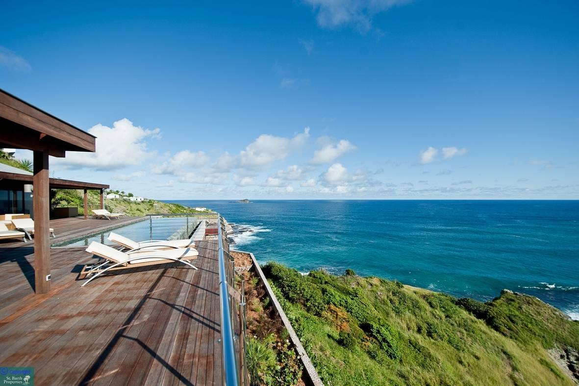 Casa para uma família para Venda às Villa Seascape Pointe Milou Other St. Barthelemy, 97133 St. Barthelemy