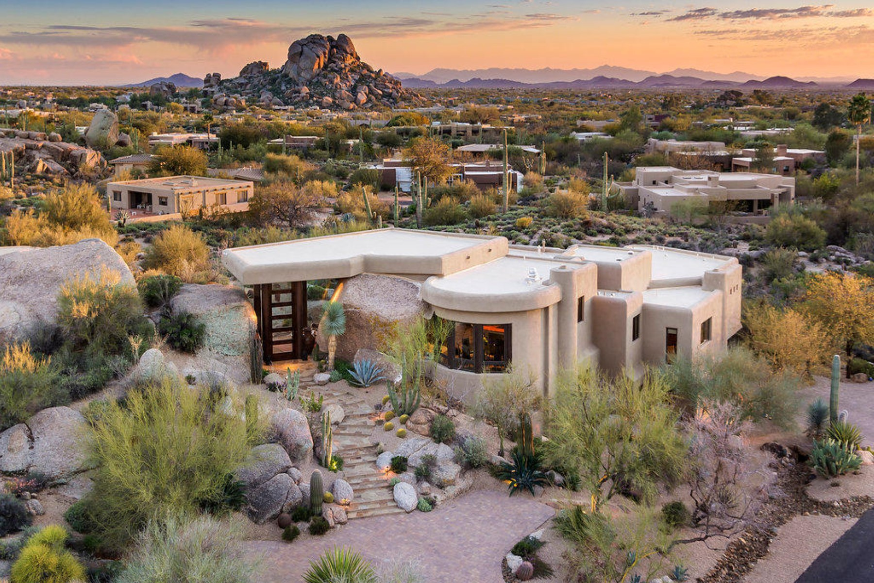 Property For Sale at One-of-a-Kind Home In The Boulders