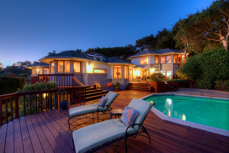 独户住宅 为 销售 在 Mesmerizing Views of San Francisco, GGB, Belvedere Lagoon & Richardson Bay! 31 Meadow Hill Drive Tiburon, 加利福尼亚州 94920 美国