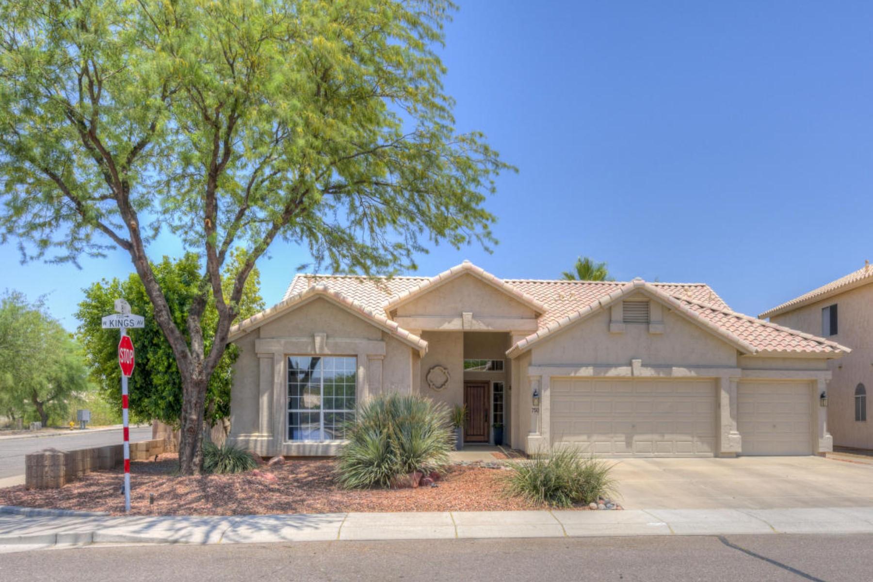 Частный односемейный дом для того Продажа на Immaculate home on a quiet corner lot 750 W Kings Ave Phoenix, Аризона, 85023 Соединенные Штаты