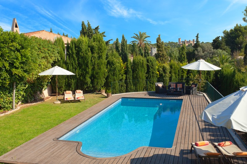 Maison unifamiliale pour l Vente à Villa with marvelous views in La Bonanova Palma, Majorque, 07014 Espagne