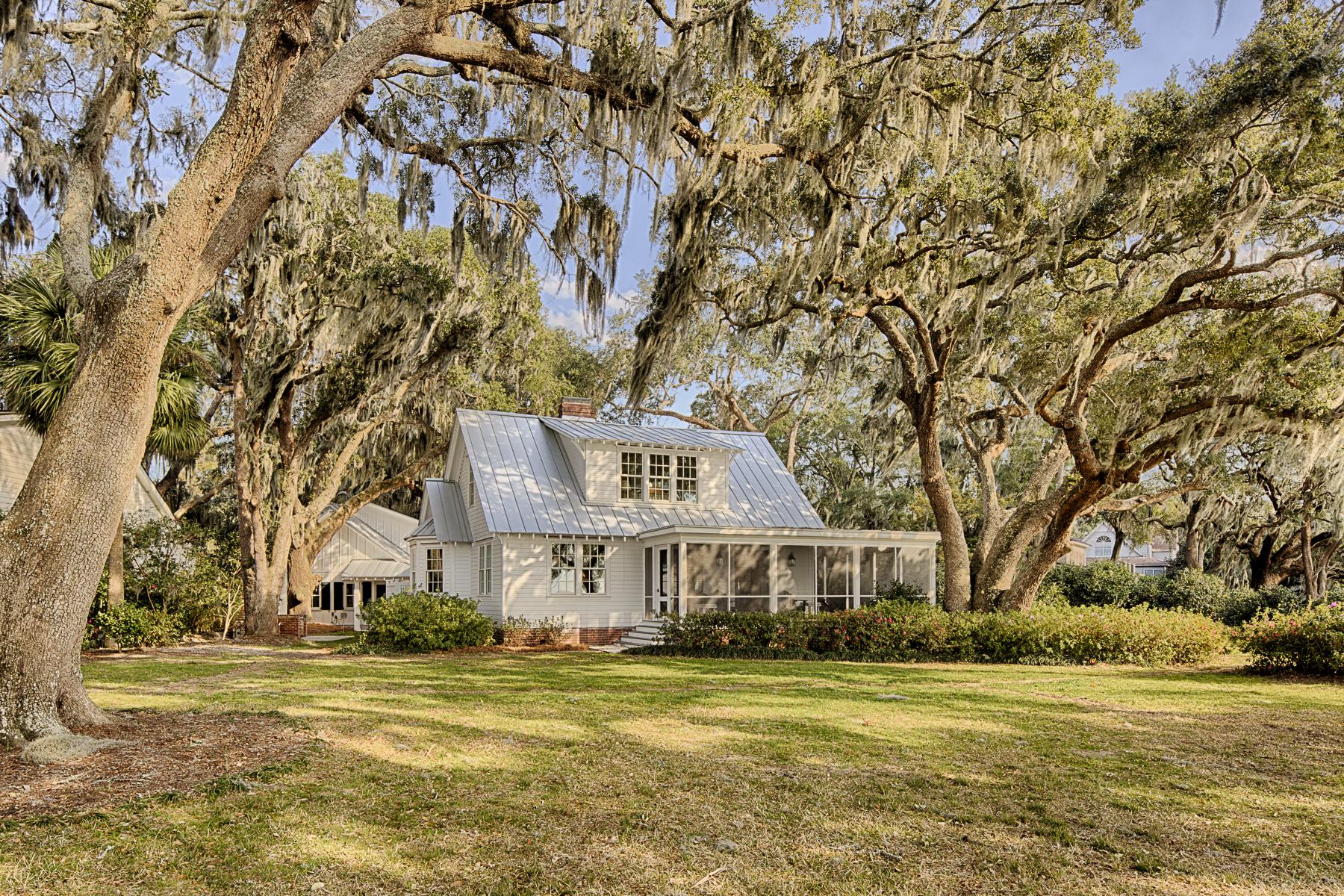 Maison unifamiliale pour l Vente à Porpoise Point 1760 Porpoise Pt 1756 Wilmington Island Rd Savannah, Georgia, 31410 États-Unis