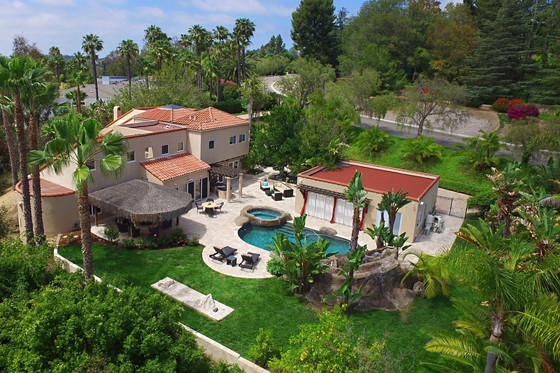 Single Family Home for Sale at 17680 Circa Oriente Rancho Santa Fe, California, 92067 United States