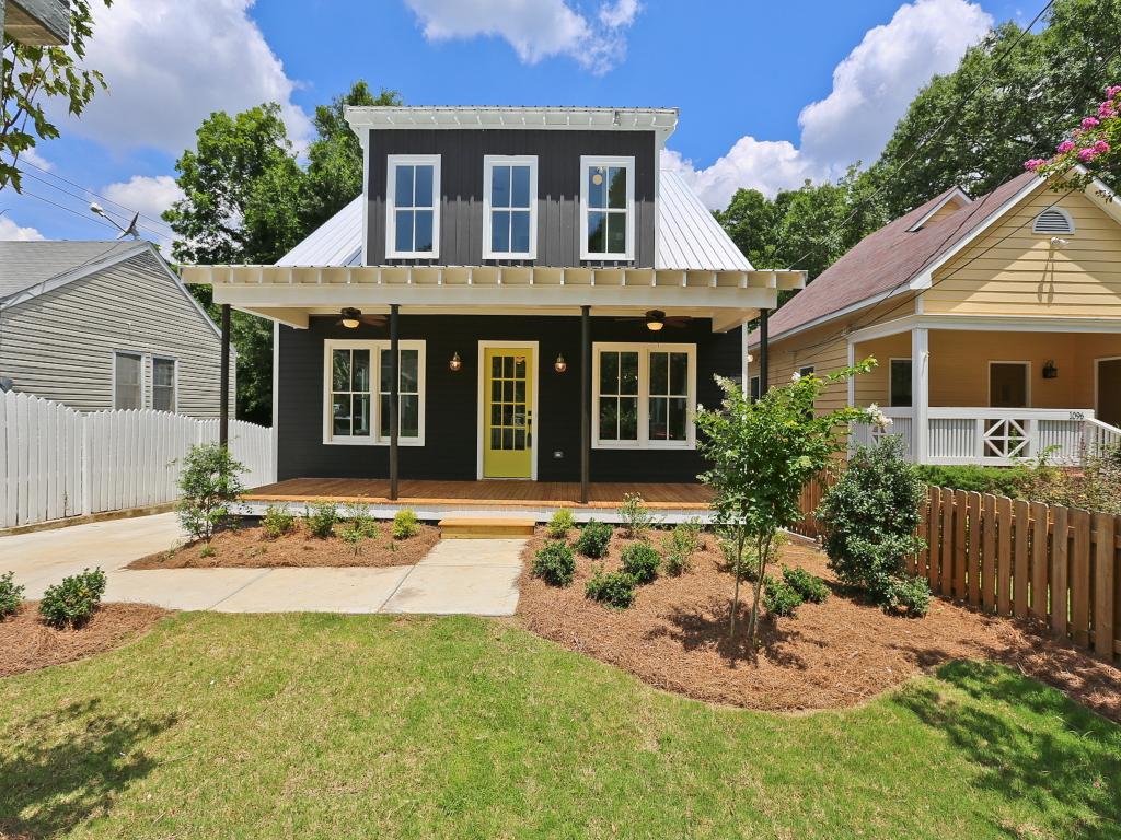 단독 가정 주택 용 매매 에 Modern Reynoldstown Farmhouse 1092 Wylie Street SE Reynoldstown, Atlanta, 조지아 30316 미국