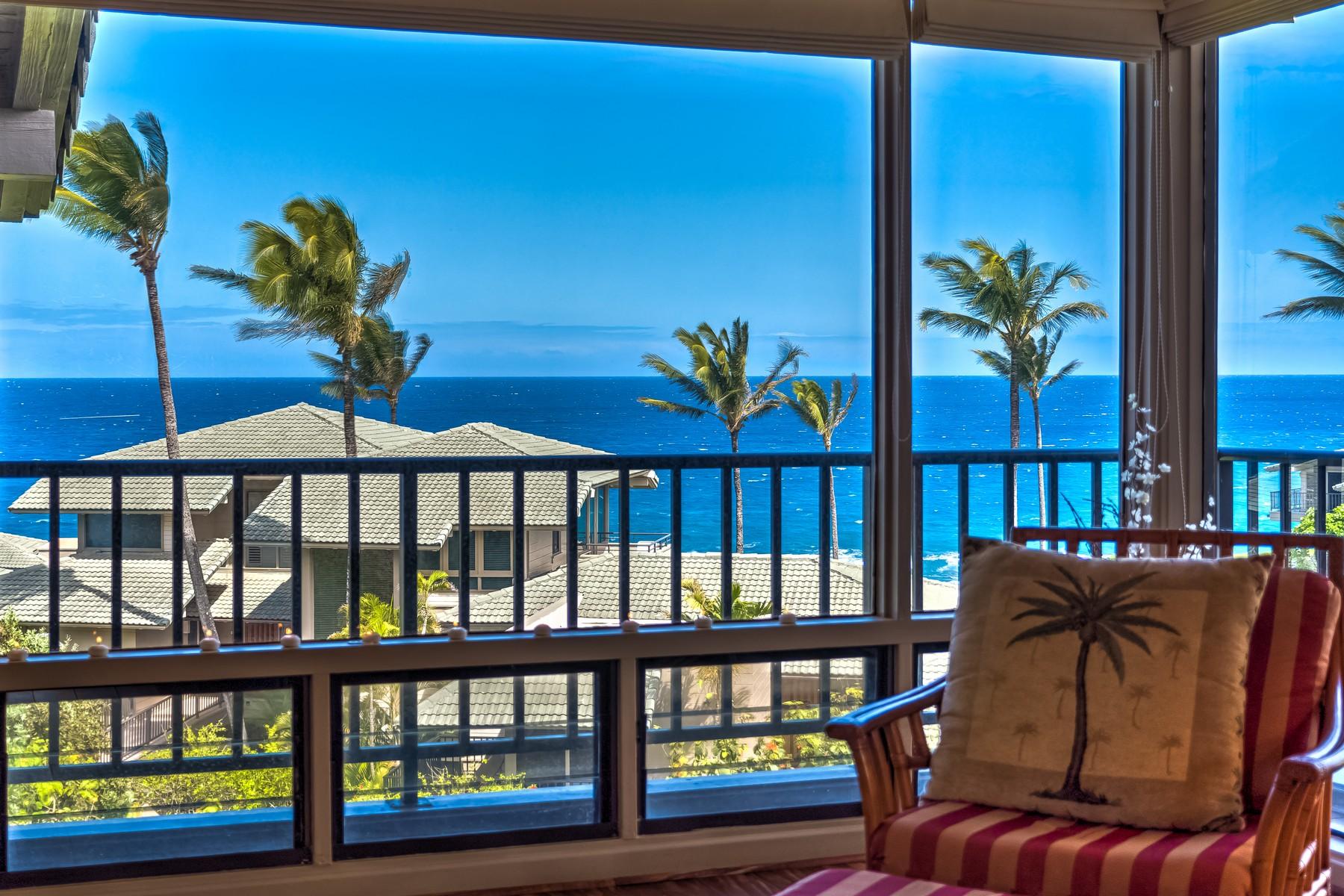 Condominium for Sale at Expansive Pacific Blue Ocean Views 500 Bay Drive, Kapalua Bay Villa 32B4 Kapalua, Hawaii, 96761 United States