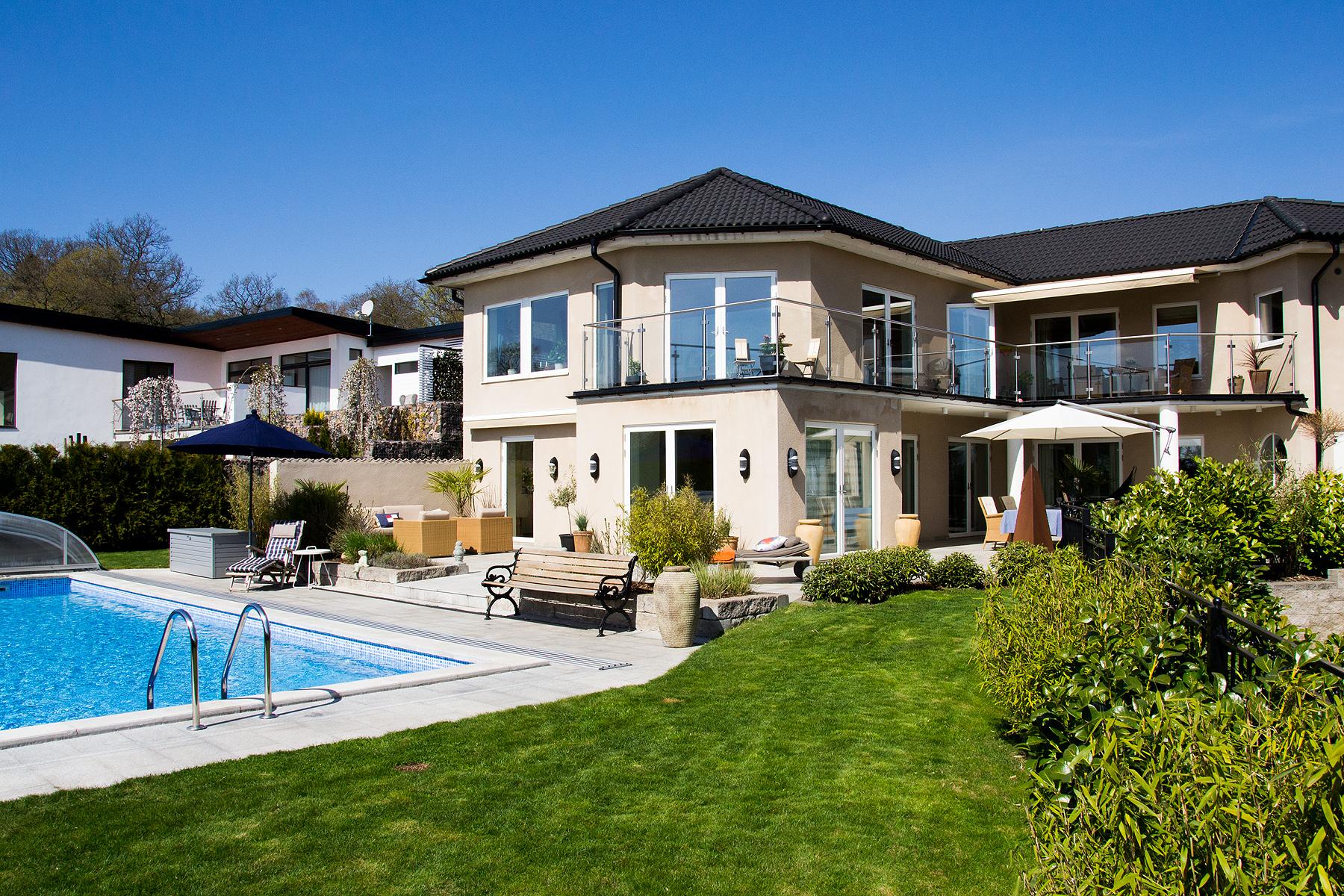 Vivienda unifamiliar por un Venta en Amazing villa with pool and ocean view Other Skane, Skane Suecia