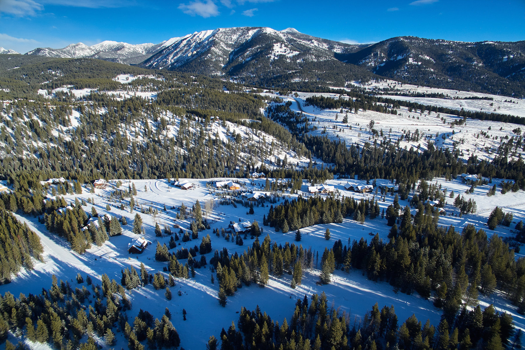 Terreno por un Venta en 20 acres in Aspen Groves Andesite Road Big Sky, Montana 59716 Estados Unidos