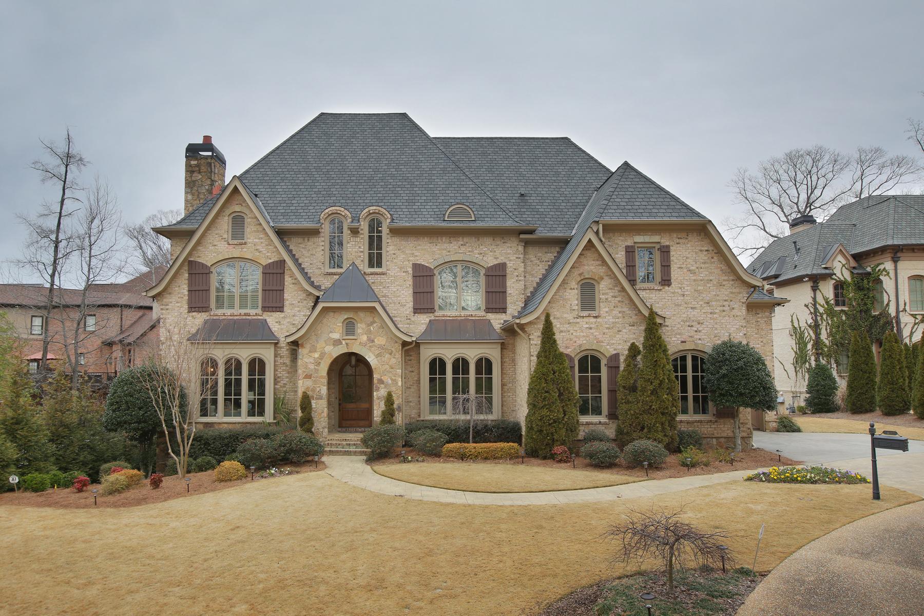独户住宅 为 销售 在 An Elegant Brookhaven Manor 1688 Windsor Parkway 亚特兰大, 乔治亚州, 30319 美国
