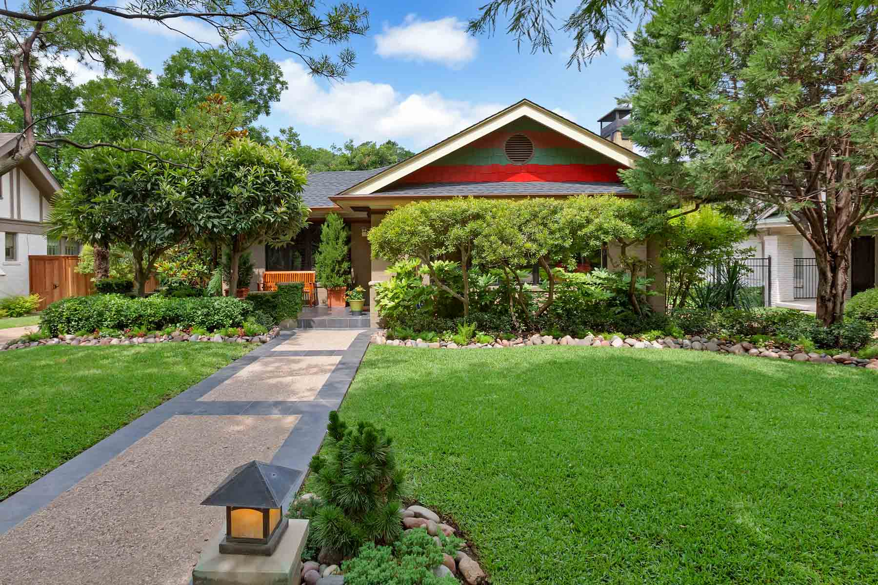 Single Family Home for Sale at Extraordinary TCU Bungalow 2542 Greene Avenue Fort Worth, Texas, 76109 United States