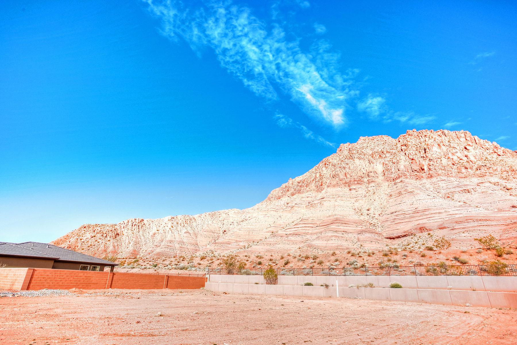 토지 용 매매 에 Red Mountain Estate View lot Lot 32 Red Mountain Estates Ivins, 유타 84738 미국