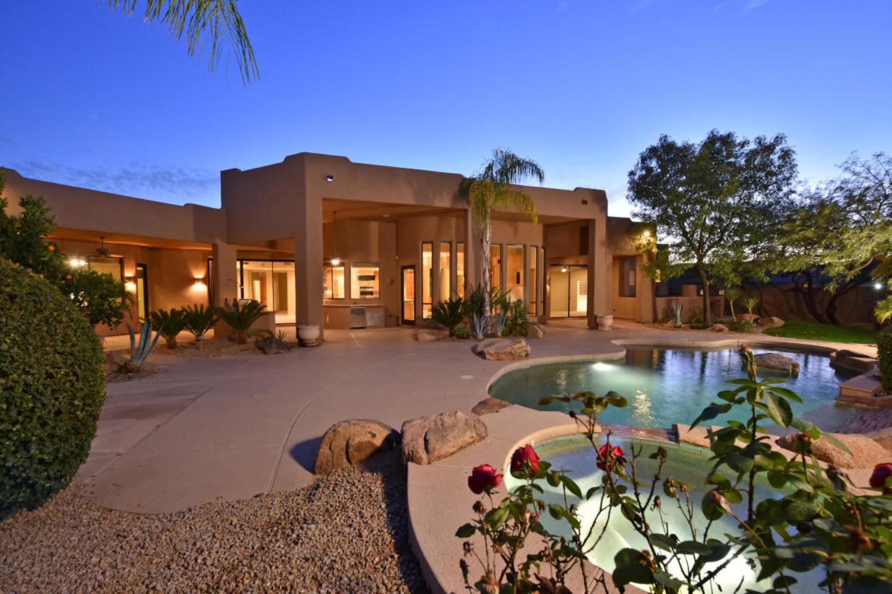 Tek Ailelik Ev için Satış at Fantastic property in Lomas Verdes 6966 E Buckhorn Trl Scottsdale, Arizona 85266 Amerika Birleşik Devletleri