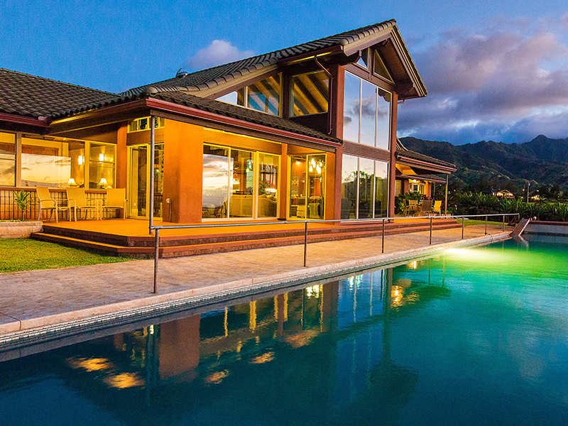 獨棟家庭住宅 為 出售 在 Exclusive North Shore Estate 65-1040 Poamoho St Waialua, 夏威夷 96791 美國