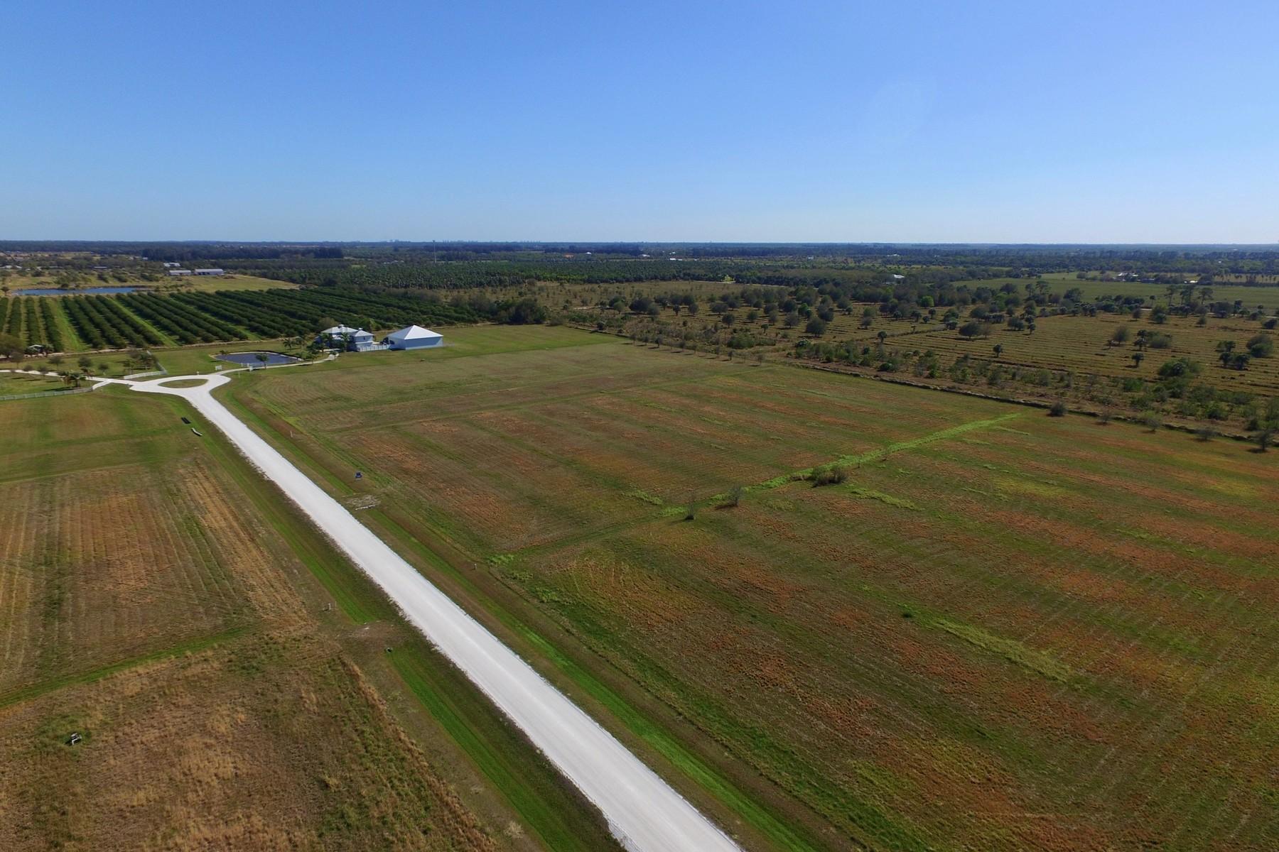 Land for Sale at 5 Acre Homesite in Victoria Plantation 6505 Lily Lane Vero Beach, Florida, 32968 United States
