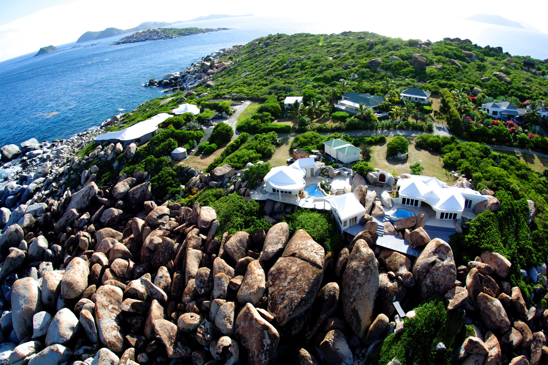 Single Family Home for Sale at Water's Edge Crook Bay, Virgin Gorda British Virgin Islands
