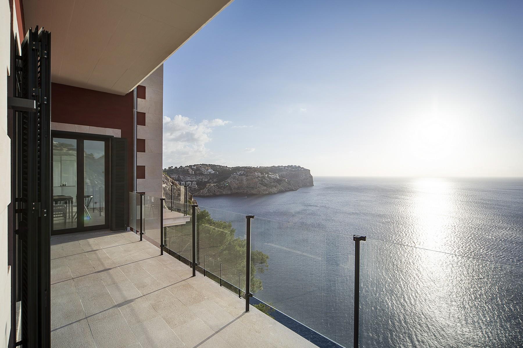 Single Family Home for Rent at Front line Villa in Port Andratx Port Andratx, Mallorca, 07013 Spain