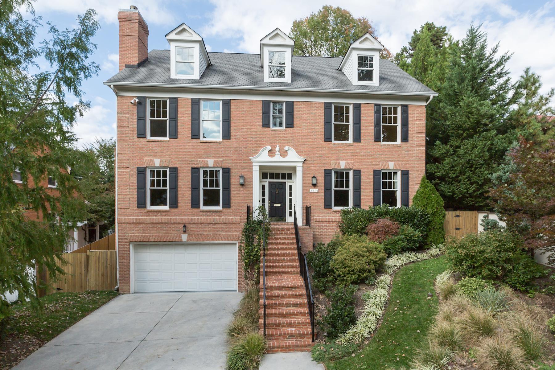 Casa Unifamiliar por un Venta en Forest Hills 3115 Appleton Street Nw Washington, Distrito De Columbia, 20008 Estados Unidos