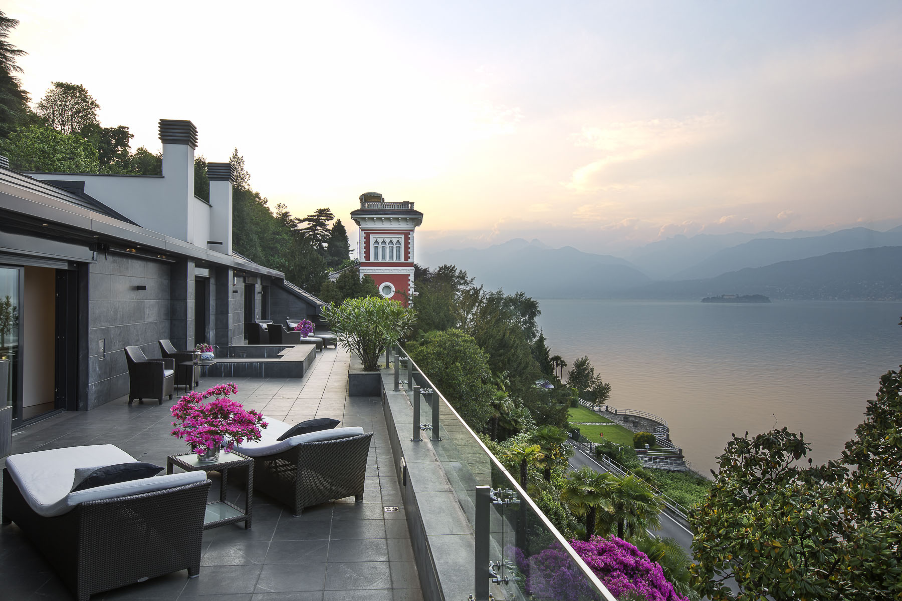 Single Family Home for Sale at An alluring lakefront villa in the enchanting Stresa Stresa, 28838 Italy