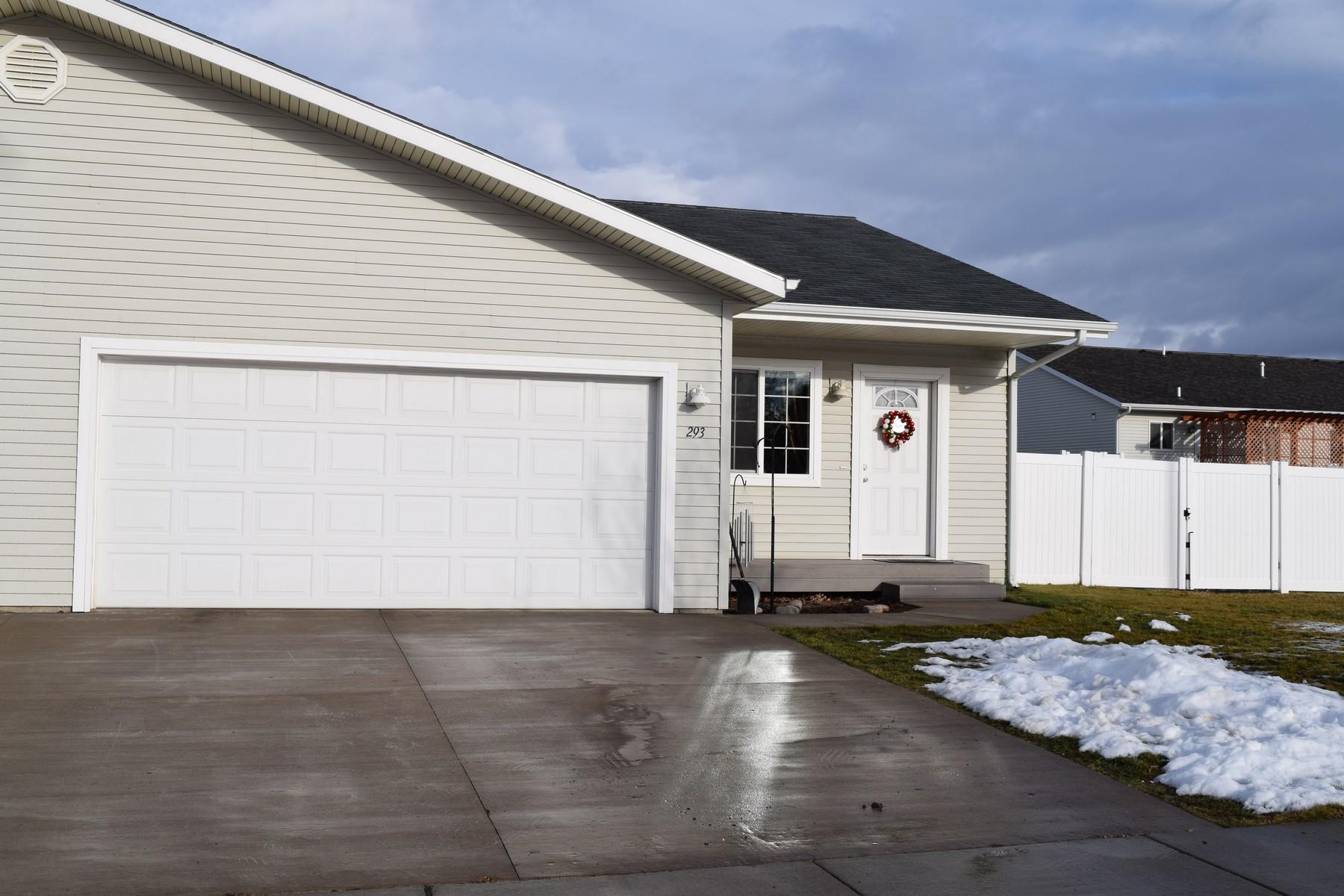 Таунхаус для того Продажа на 293 Empire Estates 293 Empire Loop Kalispell, Монтана 59901 Соединенные Штаты