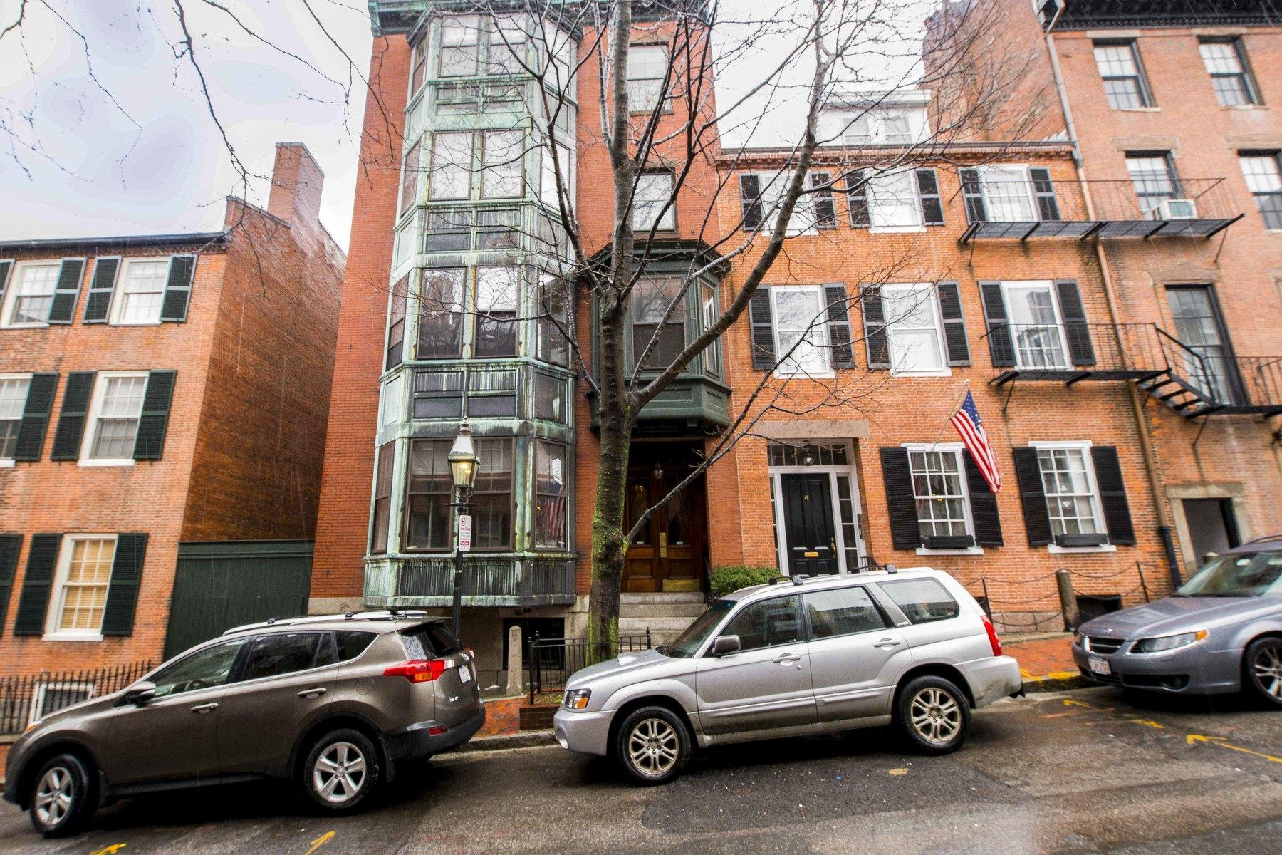 Condominium for Sale at Stunning Beacon Hill Floor Through 19 Joy Street Unit A Beacon Hill, Boston, Massachusetts, 02114 United States