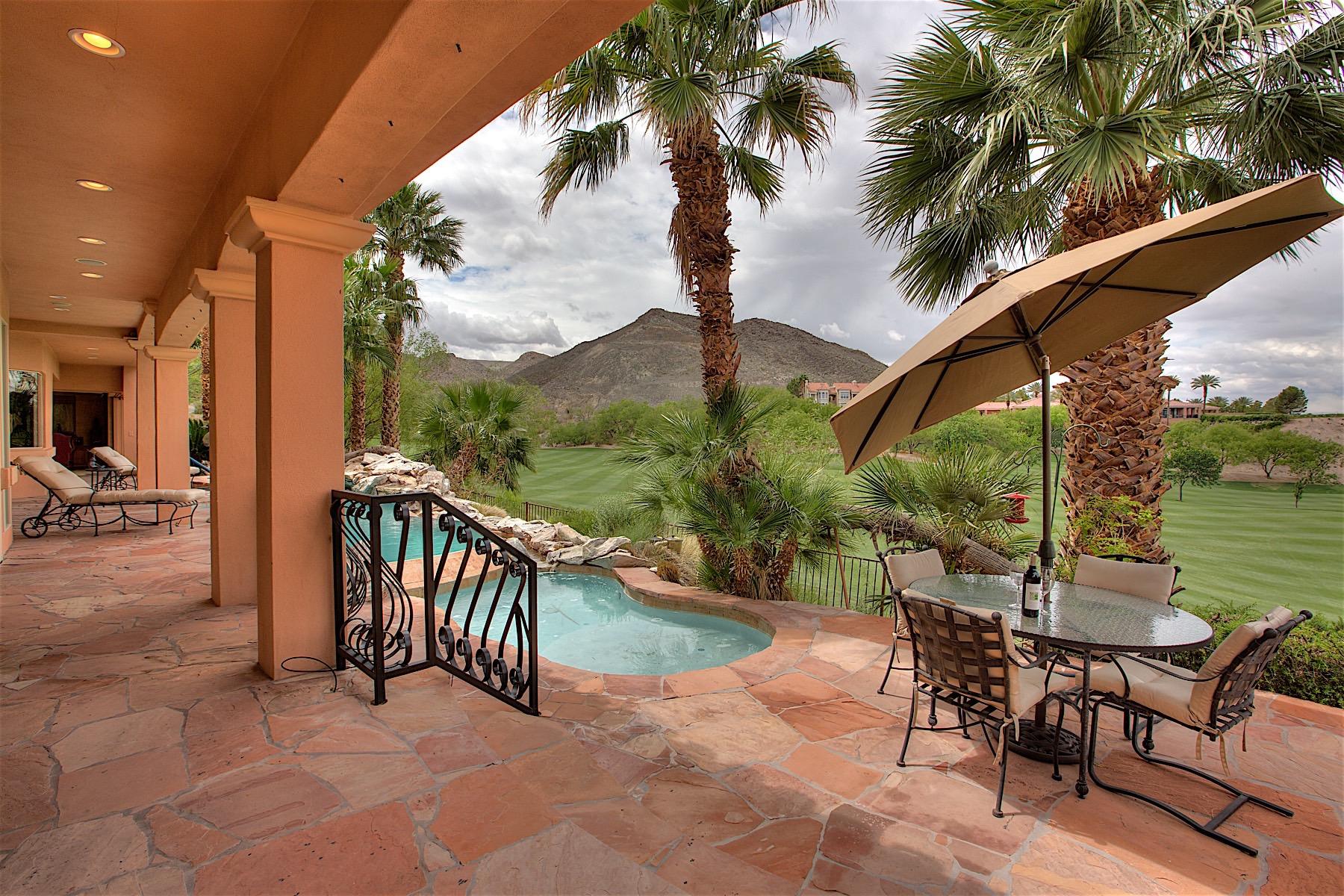 단독 가정 주택 용 매매 에 2 Camino Barcelona Lake Las Vegas, Henderson, 네바다, 89011 미국