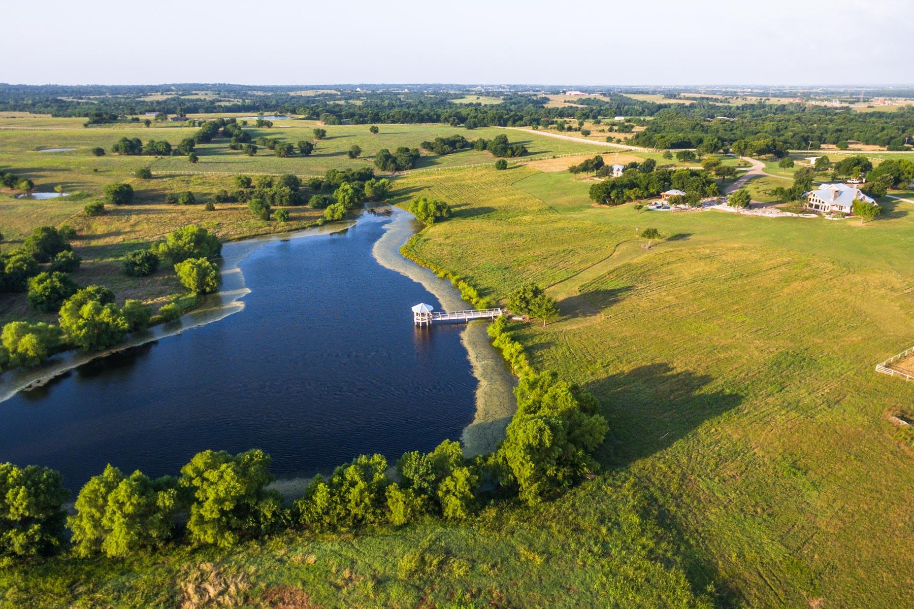 Ferme / Ranch / Plantation pour l Vente à Lone Oak Ranch 16489 CR 665 Farmersville, Texas, 75442 États-Unis