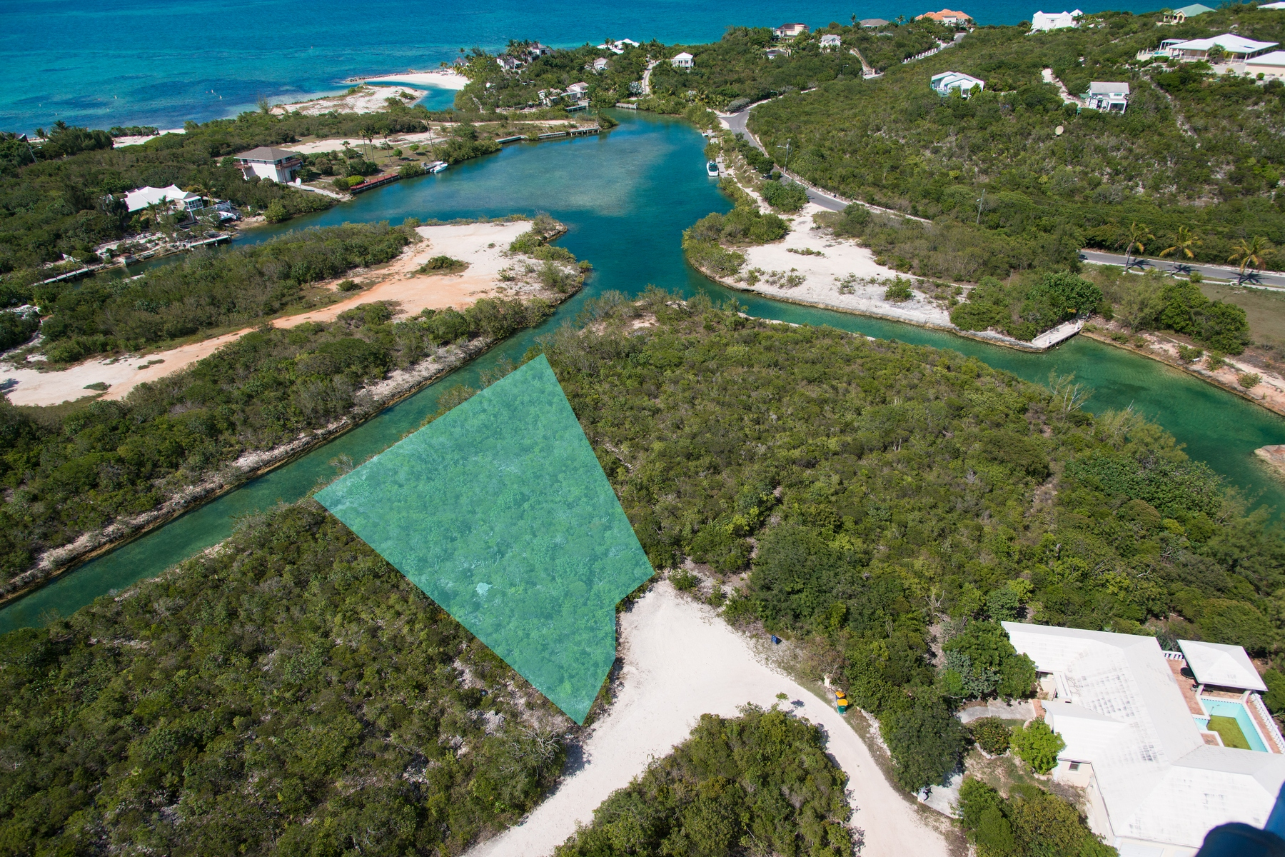 Additional photo for property listing at Thompson Cove - Canal Lot 汤姆森湾, 普罗维登夏 特克斯和凯科斯群岛