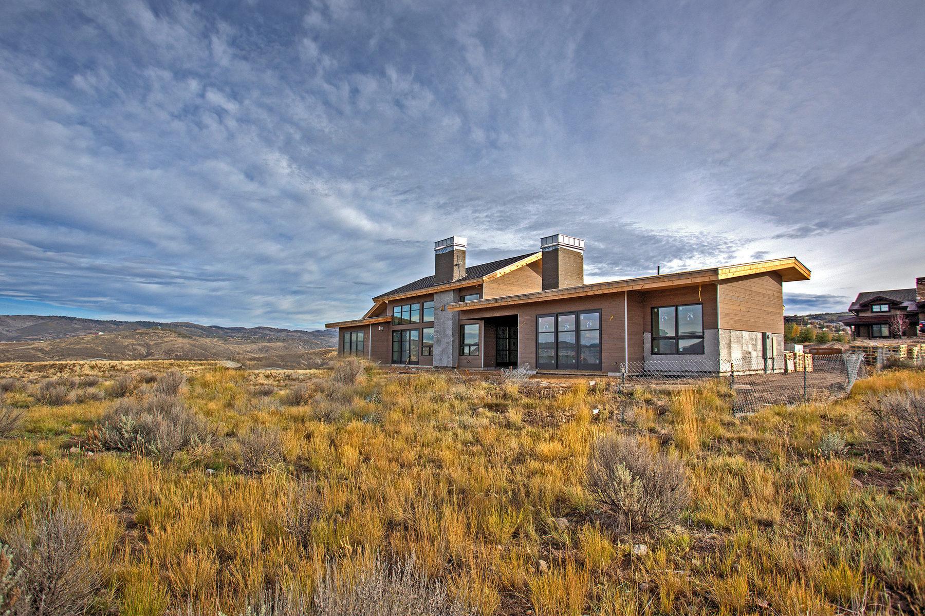 Einfamilienhaus für Verkauf beim Mountain Modern Masterpiece 2302 Palomino Trail Park City, Utah 84098 Vereinigte Staaten