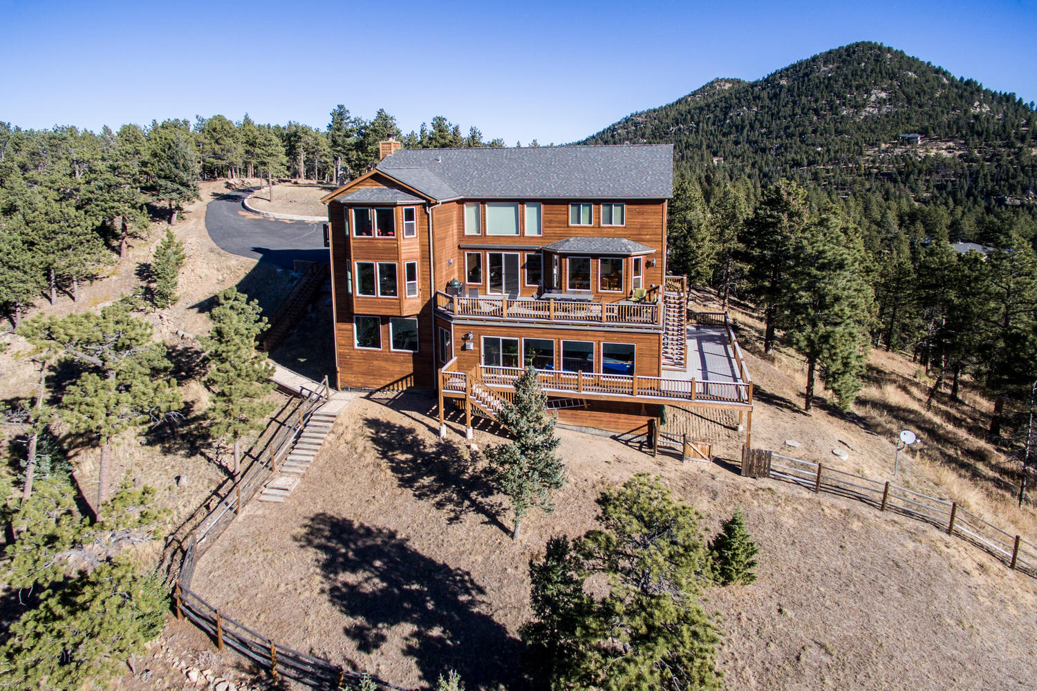 Single Family Home for Sale at Amazing Hilltop Views 29448 Loomis Way Golden, Colorado 80403 United States